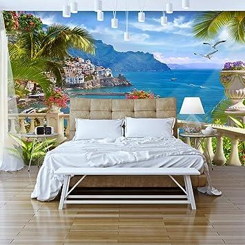 Murando   Fototapete Tropische Insel 350x256 Cm   Vlies Tapete   Moderne  Wanddeko   Design Tapete