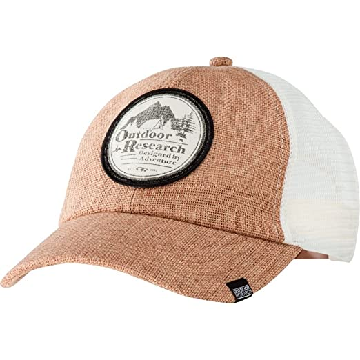 93e048fe Amazon.com: Outdoor Research Big Rig Trucker Cap, Straw, 1Size: Clothing