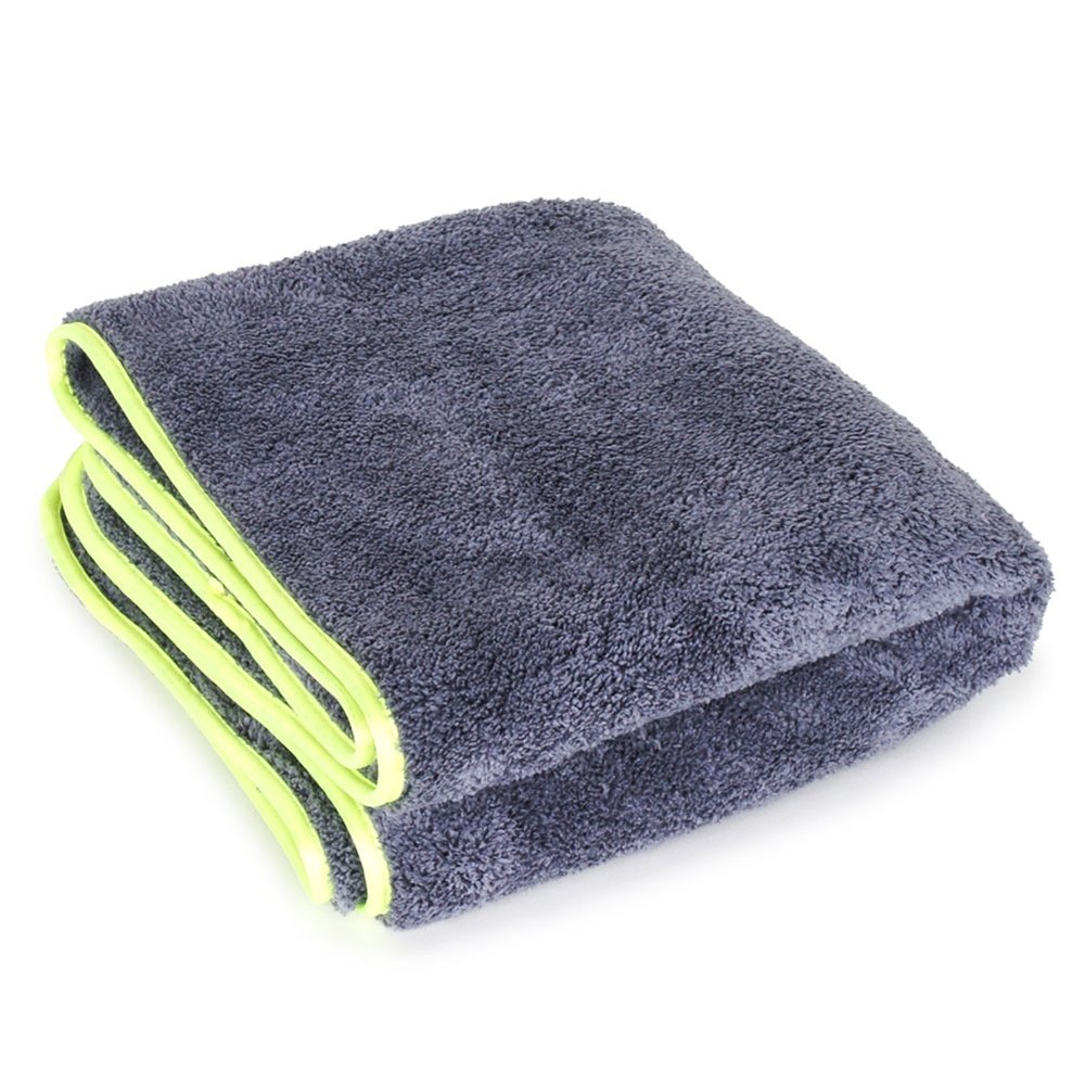 Liquid X Supersized XL 20'' x 40'' Professional Grade Super Plush Microfiber Car Drying Detailing Towel with Silk Edge (1 Pack)