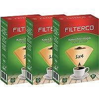 Filterco Filtre Kahve Kağıdı 1/4 80li 3 Paket