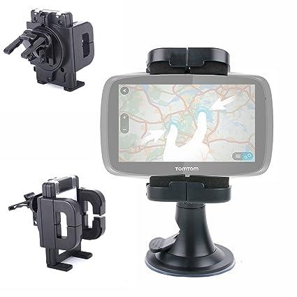 DURAGADGET Soporte Para Parabrisas De Coche Con Abrazadera Ajustable Para GPS Tomtom GO Live 1005/