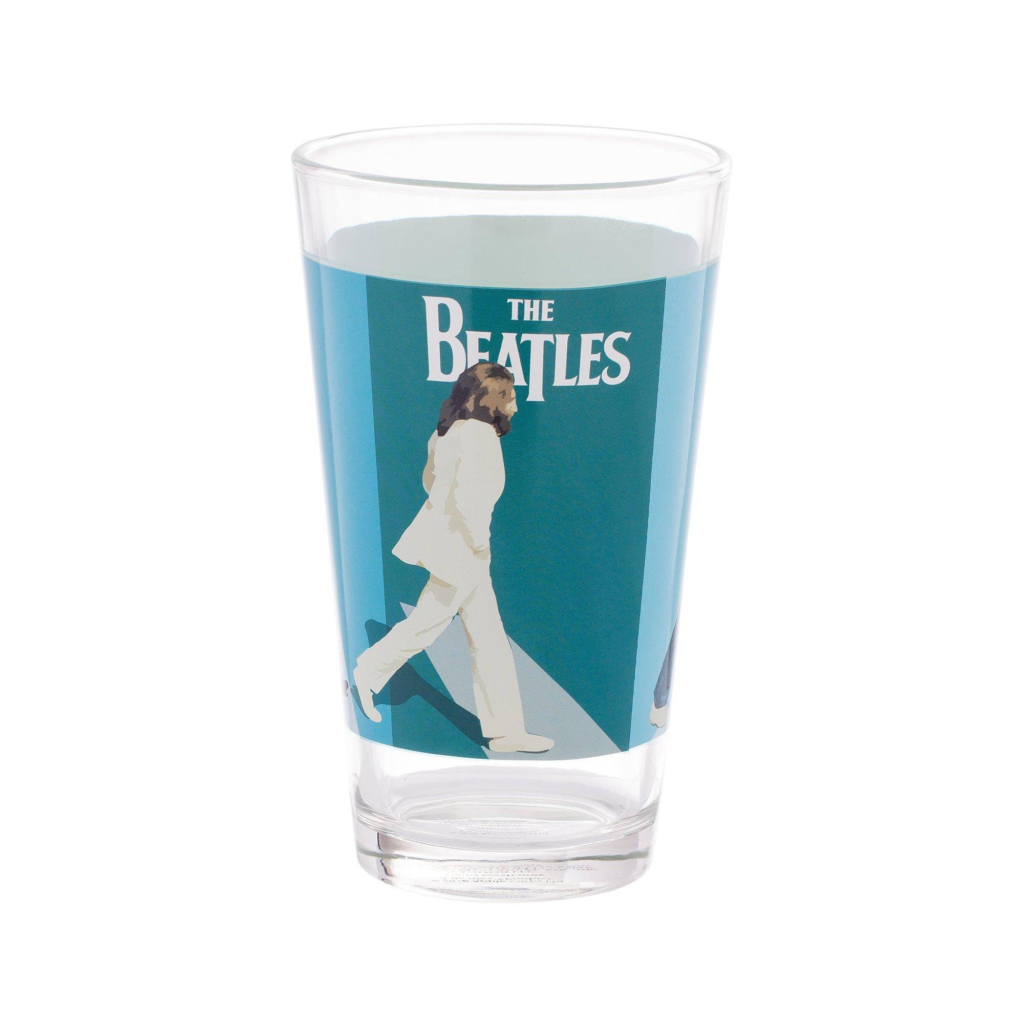 Vandor The Beatles Abbey Road 4 Piece 16 Ounce Glass Set (72012) by Vandor (Image #5)