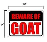 Honey Dew Gifts Yard Decorations, Beware of Goat