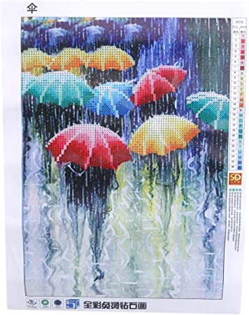 5D Full Drill Diamond Painting Embroidery Kitchen Cross Stitch Kits Home Decor