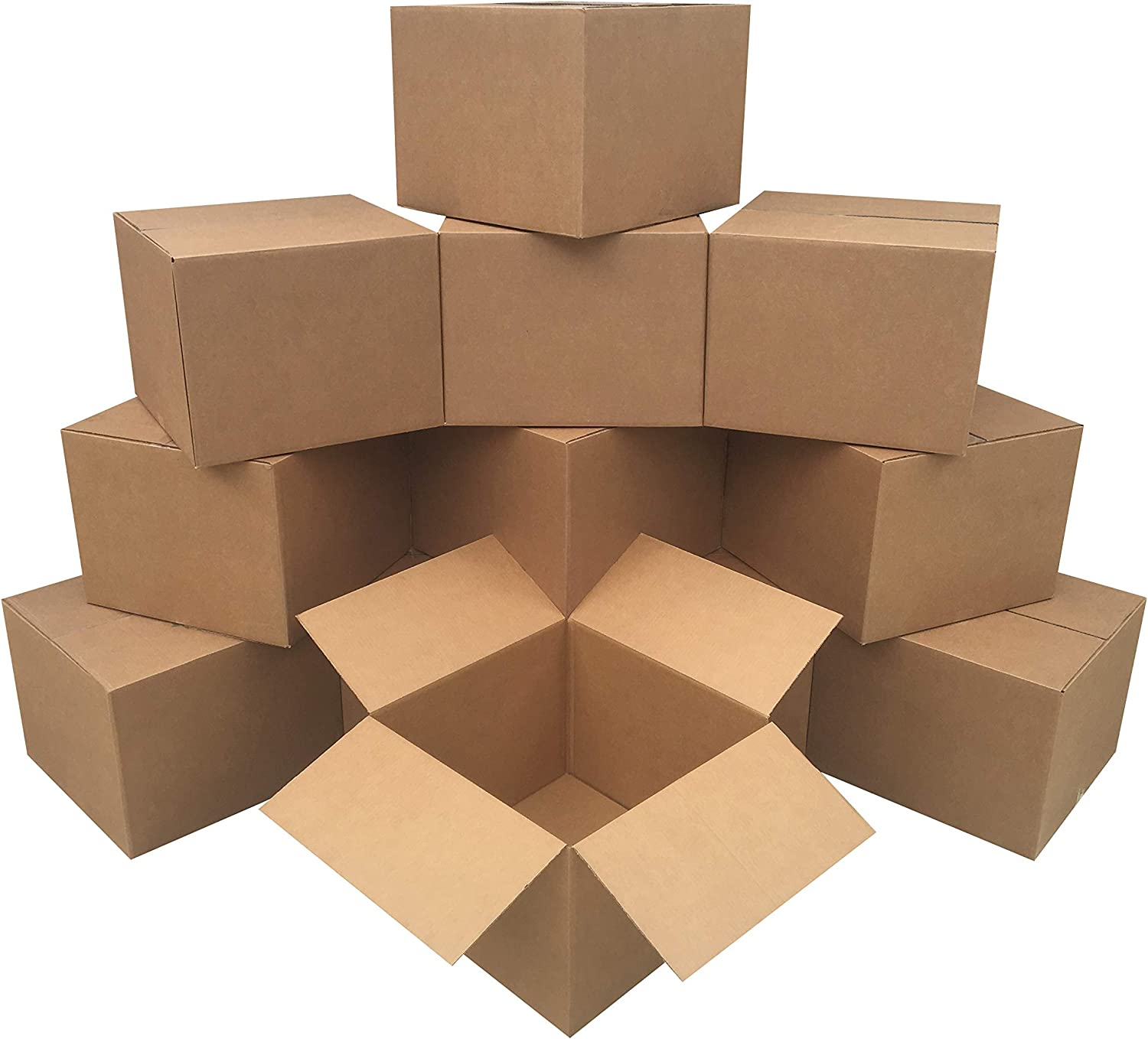 UBOXES Moving Boxes, Large 20 x 20 x 15 Inches (Bundle of 12) Boxes for Moving (BOXBUNDLAR12) : Box Mailers : Office Products