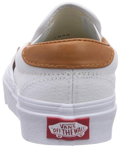 Vans SLIP-ON 59, Unisex-Erwachsene Sneakers, Weiß ((Washed C L) tr FQ8), 41 EU