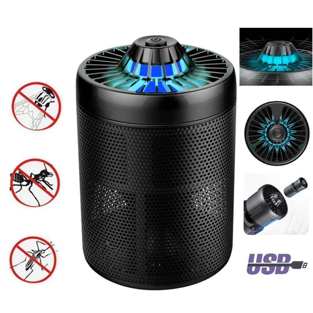 YaeKoo No Smell Silent LED UV Electric Mosquito Bug Zapper, USB Power Yaemart Corportation