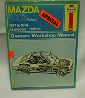 mazda rx2 rotary: 1971 to 1974, all models (owners workshop manual)