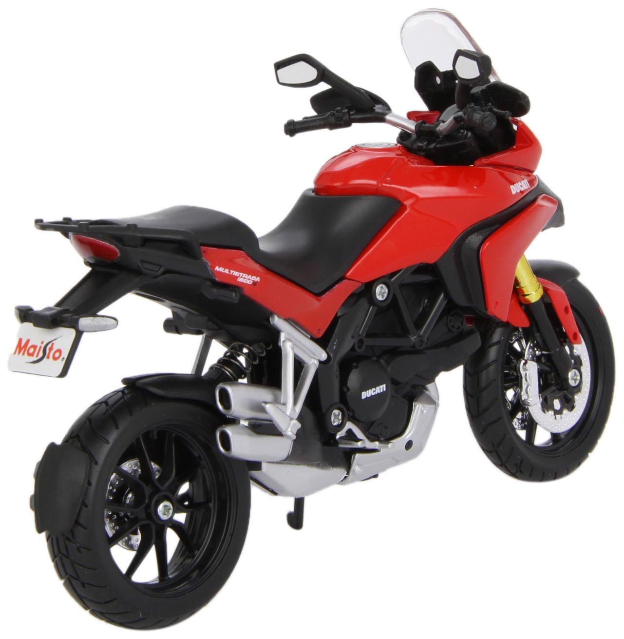 escala 1:12 Maisto 531188 Ducati Multistrada 1200 MY 10 Moto miniatura colores surtidos