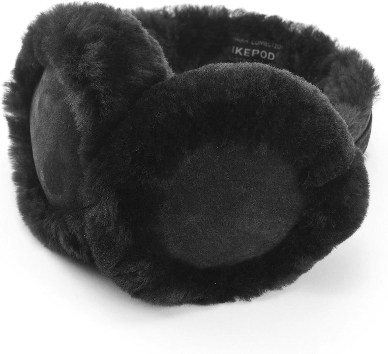 IKEPOD Classic Australian sheepskin Earmuff Ear Warmer Unisex Warm Thermal Earwarmer
