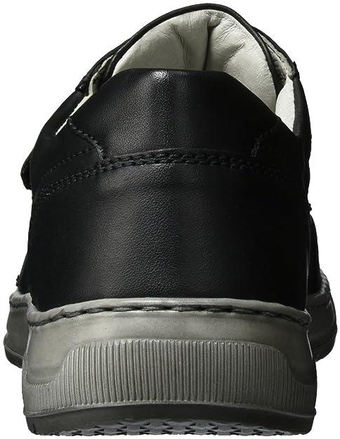 Hadrian, Chaussures avec Fermeture Velcro Homme - Schwarz (Schwarz), 45 EU (10.5 UK)Waldläufer