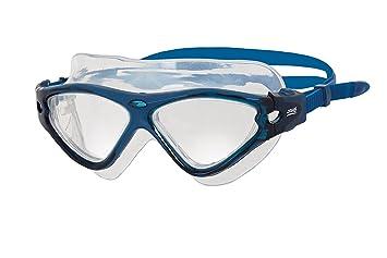 Zoggs Tri-Vision Mask Gafas de natación, Hombre, Azul, Única: Amazon.es: Deportes y aire libre