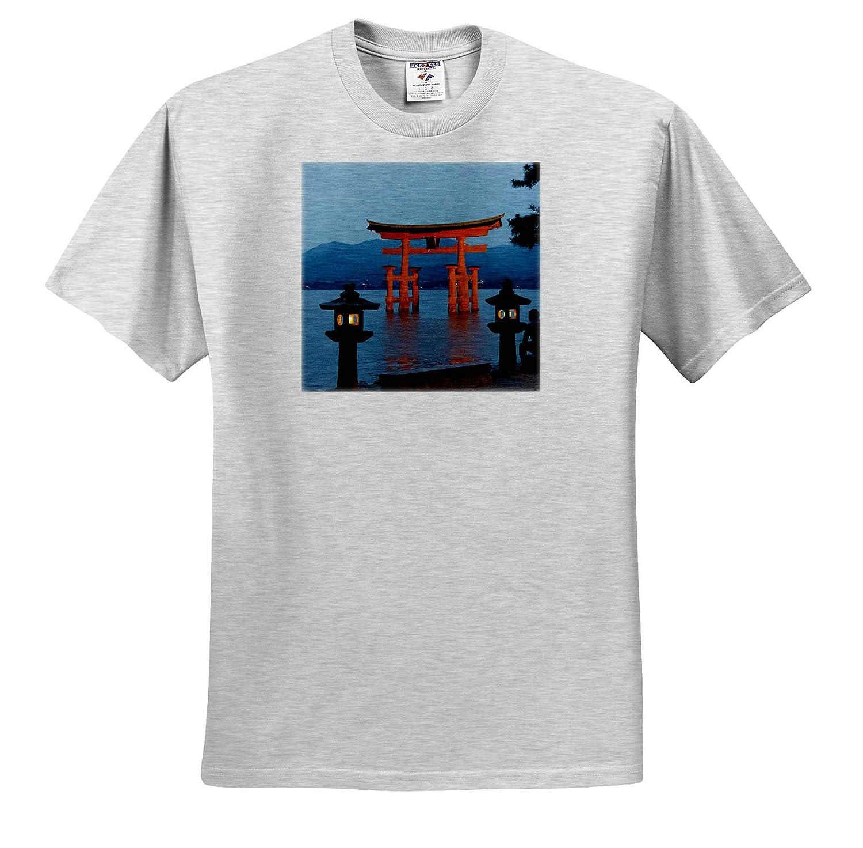 Japan Torii Gate of Itsukushima Shrine ts/_312765 Adult T-Shirt XL Japan Miyajima 3dRose Danita Delimont