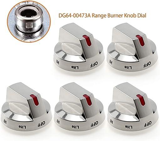 DG64-00472B Appliance DG64-00347B Dial Knob for Samsung Range Oven