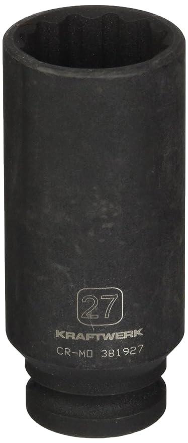 Vasos estándar para llaves Vaso impacto 12 caras 1/2 27mm KRAFTWERK 381927