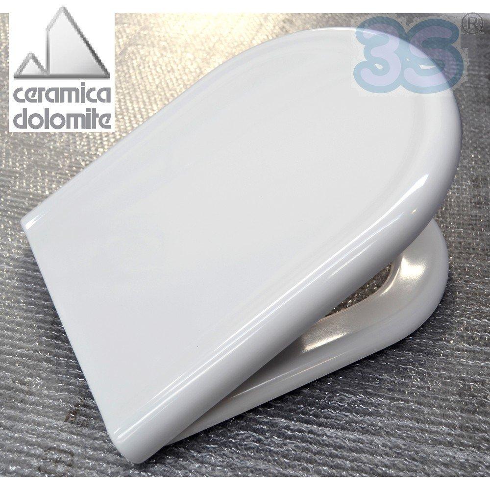 Ceramica Dolomite J104900 Sedile Normale Serie Clodia: Amazon.it ...