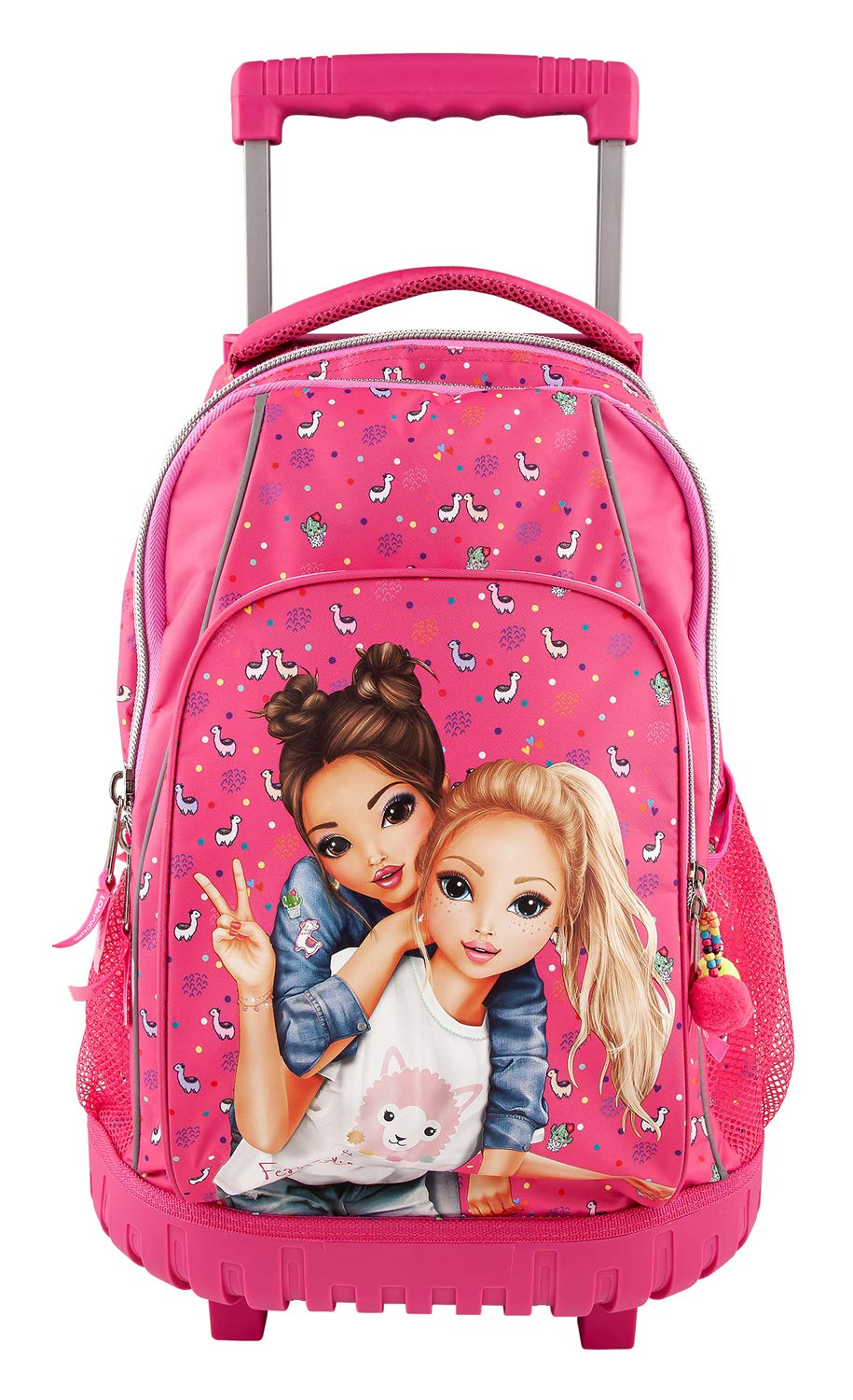 Amazon.com: Depesche 10360 School Rucksack Trolley Top Model Pink: Toys & Games