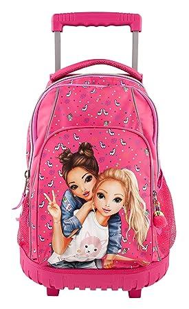Amazon.com: Depesche 10360 School Rucksack Trolley Top Model Pink: Toys & Games