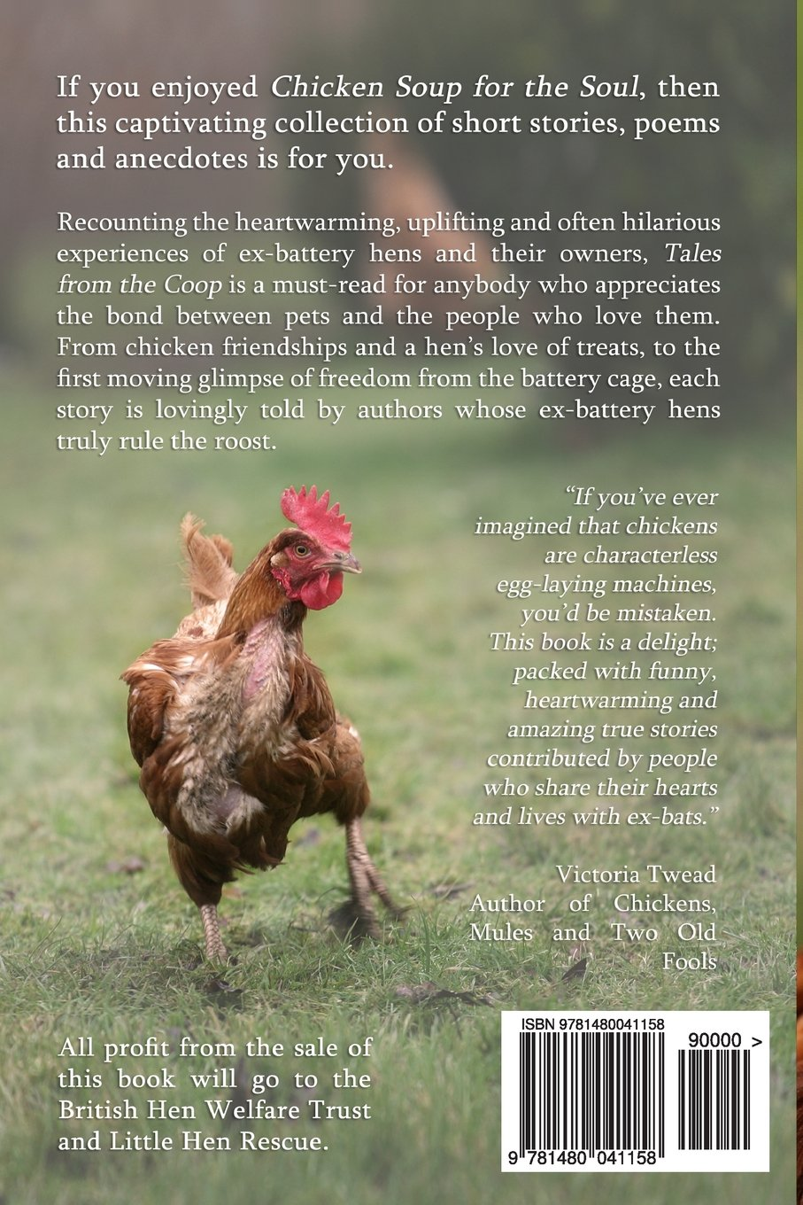 Tales from the Coop: The joy of ex-battery hens: Sophie Mccoy:  9781480041158: Amazon.com: Books