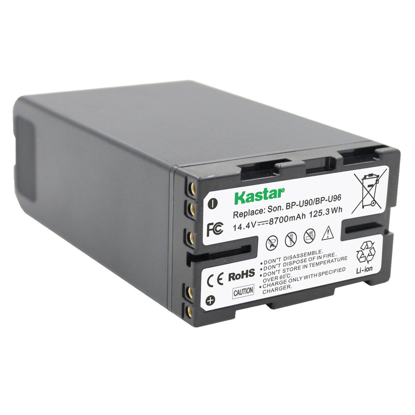 Kastar BP-U90 Battery for Sony BP-U30 BP-U60 BP-U65 BP-U66 BP-U96 and PXW-FS7 FS5 X 180 PMW-100 150 150P 160 PMW-200 300 PMW-EX1 EX1R PMW-EX3 EX3R PMW-EX160 PMW-EX260 PMW-EX280 PMW-F3 PMW-F3K PMW-F3L