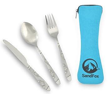 Amazon.com: sandfox Camping Clase de utensilios premium ...