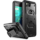 i-Blason Armorbox Case for Google Pixel 2, [Built-in Screen Protector] [Full Body] [Heavy Duty Protection ] [Kickstand] [Belt