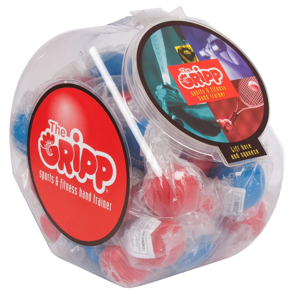 Anti Stressball The Gripp II Knautschball Stressball Wutball Knetball 40er Set