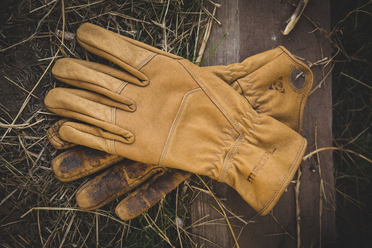 Magpul Core Ranch Traditional Leather Work Gloves, Medium