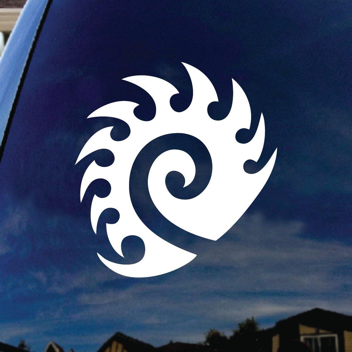 "SoCoolDesign Star Craft Zerg Car Window Vinyl Decal Sticker 4"" Tall"