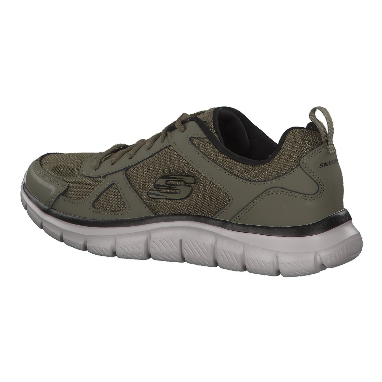 49d2edcd8f03f Skechers Track Scloric Men Sneaker Trainers Olive Black 52631:  Amazon.co.uk: Shoes & Bags