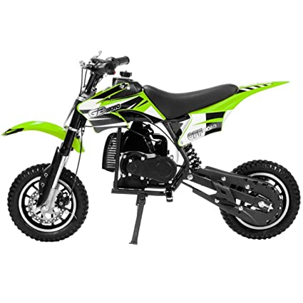 b3cc396a71663 Amazon.com   9TRADING 49cc 50cc 2-Stroke Gas Motorized Mini Dirt ...