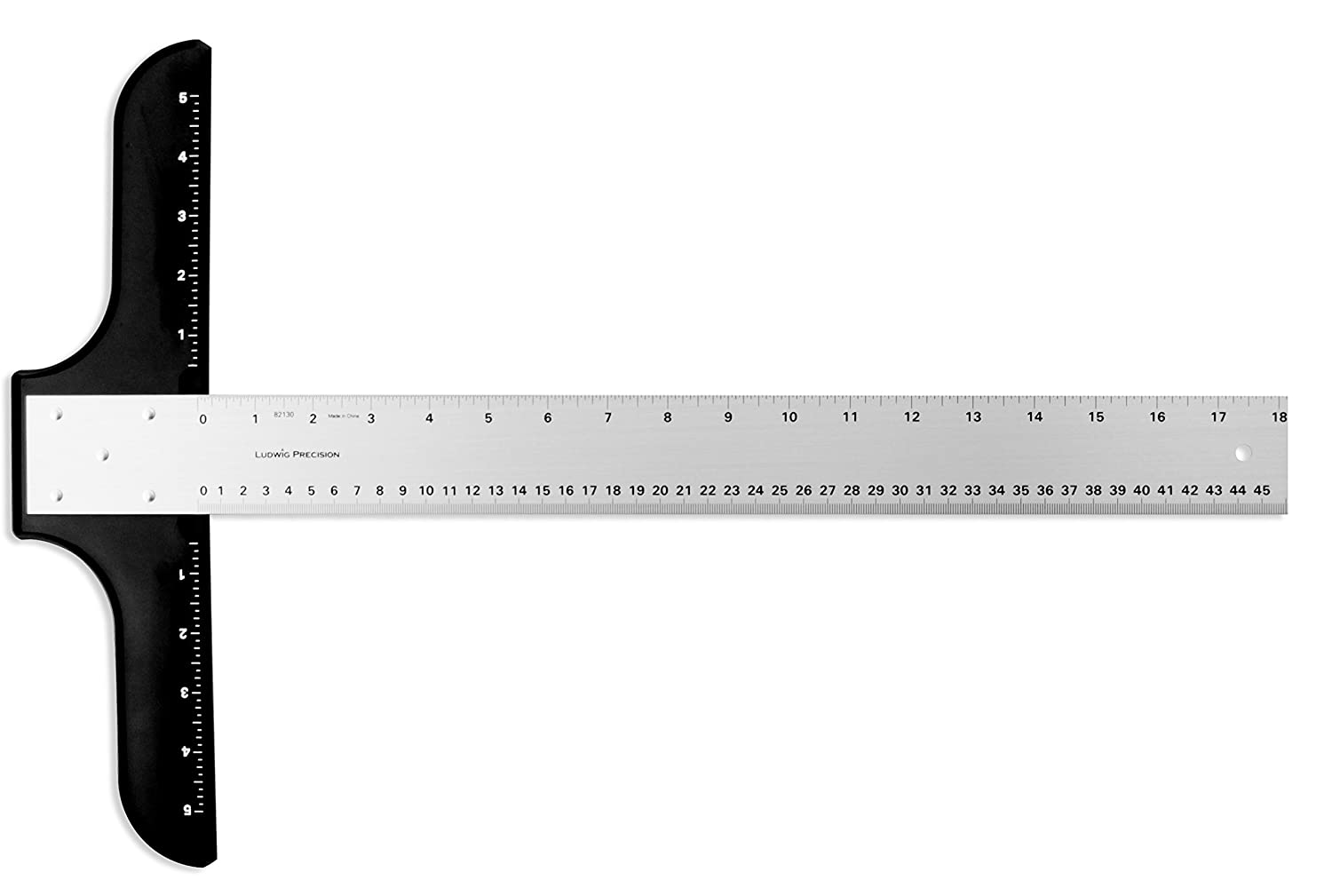 82012 Ludwig Precision 12 Standard T-Square for Art Framing and Drafting