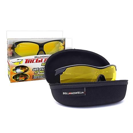 2364ebb061b6 Amazon.com  TAC GLASSES by Bell+Howell Sports Polarized Sunglasses for  Men Women