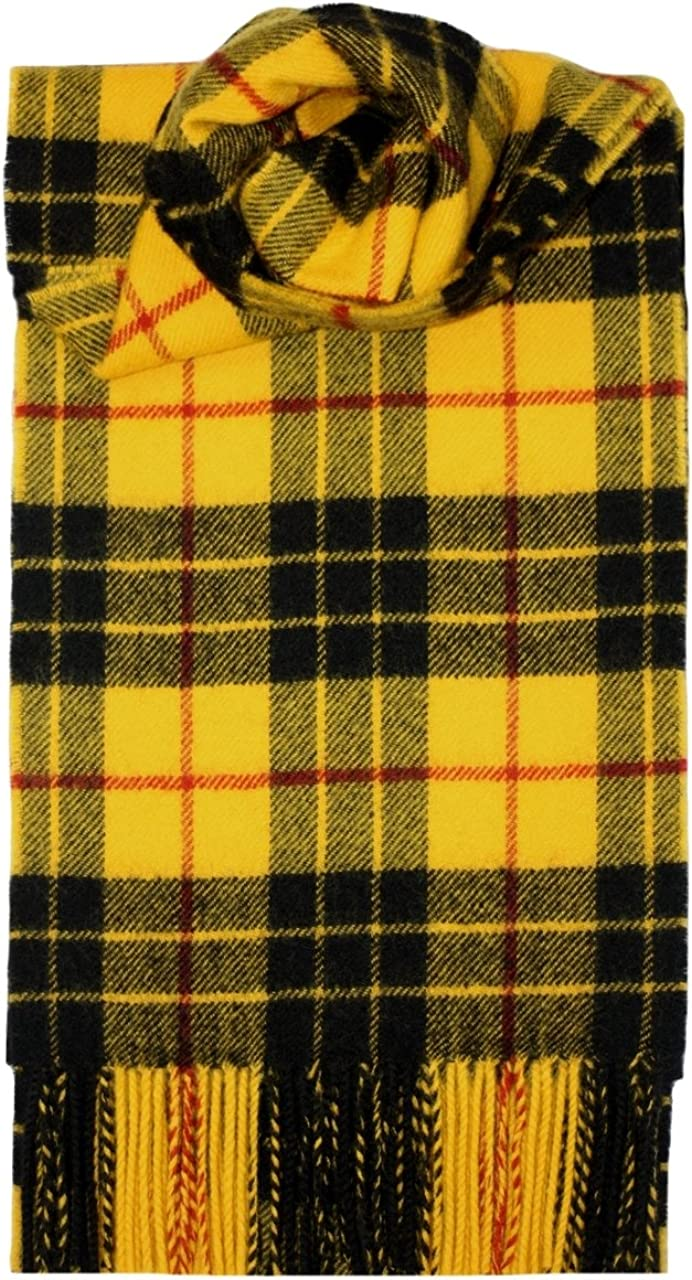 Scarf Tara or Murphy Modern Tartan Irish wool Plaid