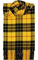 MacLeod (Dress) Tartan Écharpe en laine d'agneau
