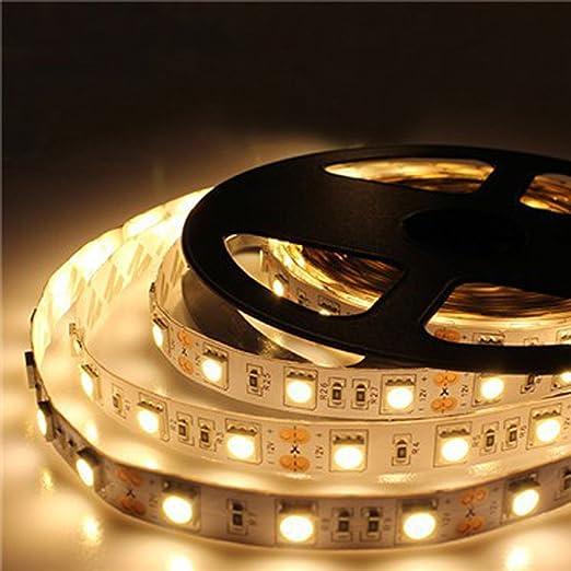 JOYLIT Striscia LED Bianco caldo 3000-3500K SMD5050 300led IP20 Non ...