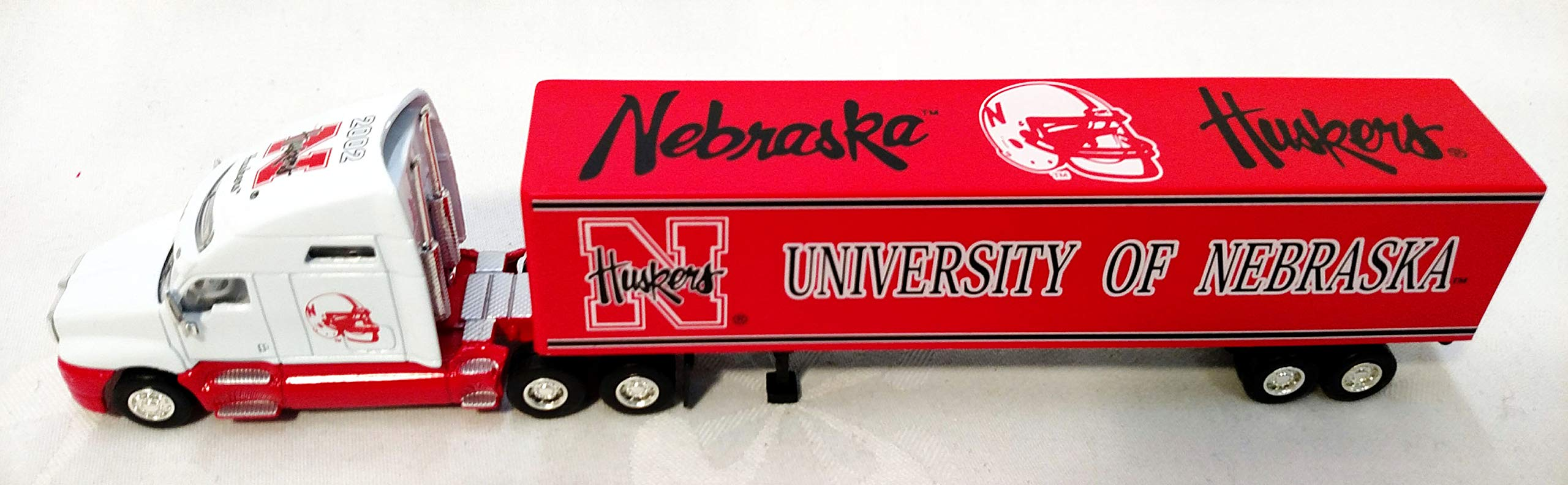University of Nebraska Cornhuskers 2002 Limited Edition 1:80 Scale Die Cast Tractor Trailer