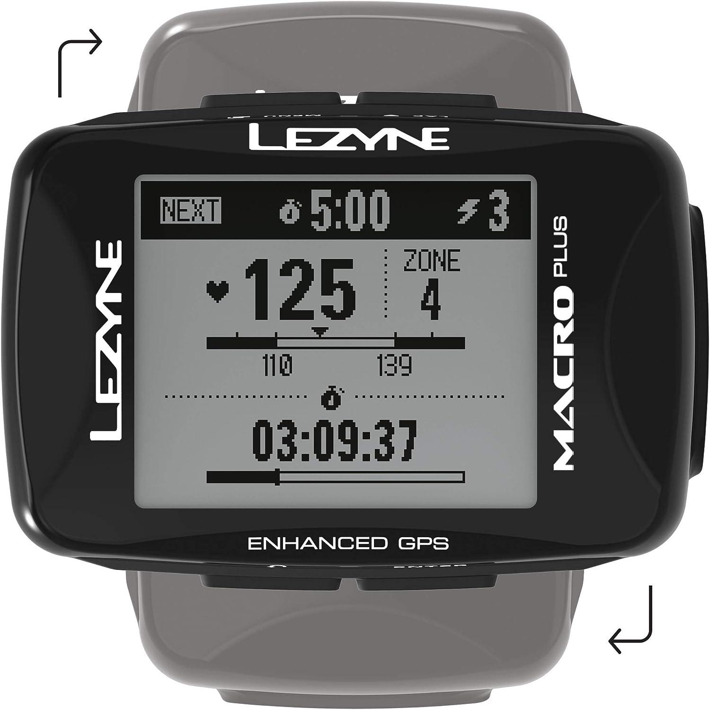 LEZYNE Macro Plus HR - Contador GPS para Bicicleta o montaña ...