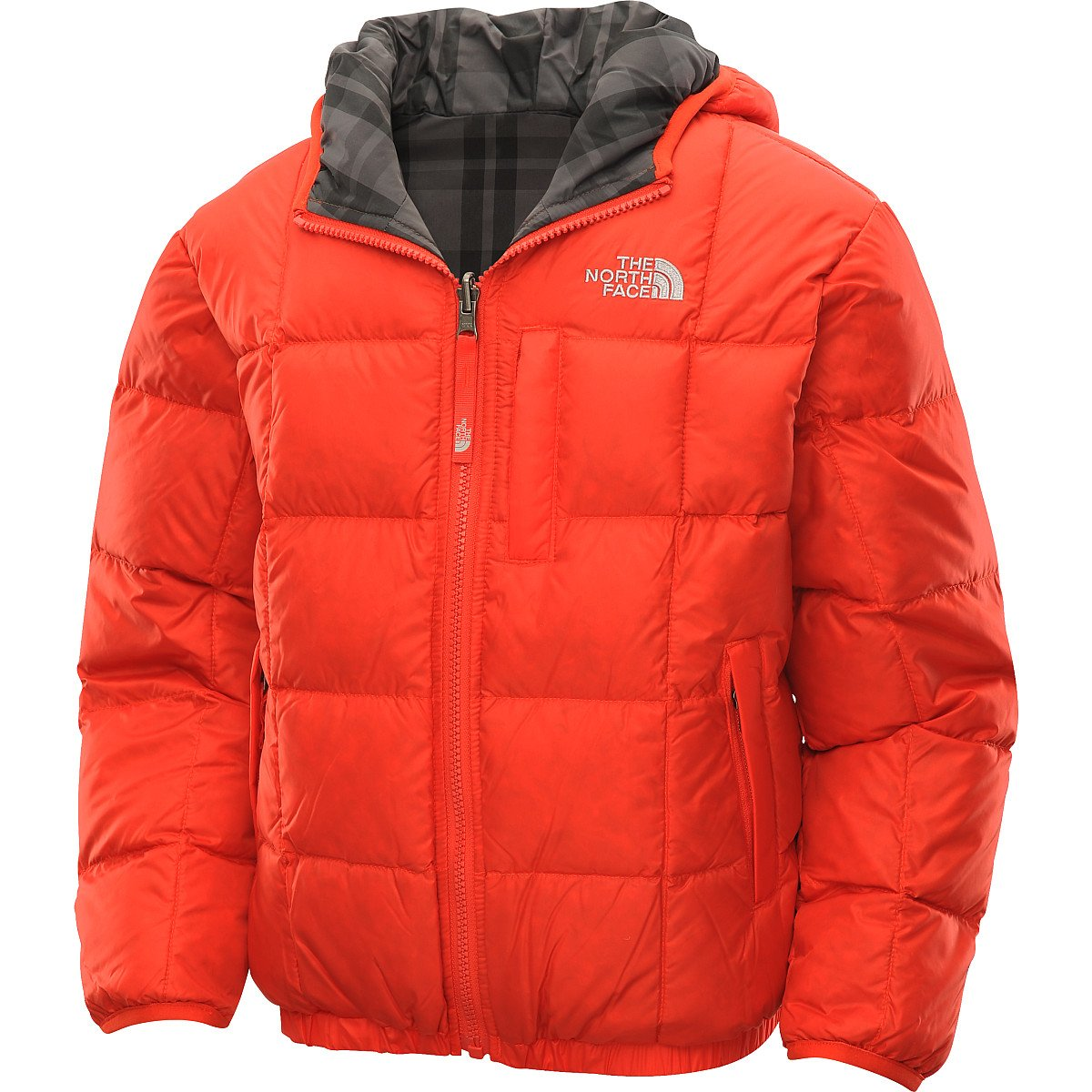 3a36b2508 THE NORTH FACE Boys Reversible Down Moondoggy Jacket - Size S ...