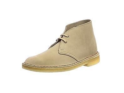 Clarks Originals Desert Boot, Damen Derby Schnürhalbschuhe, Gelb (SAND SUEDE), 36 EU (3.5 Damen UK)