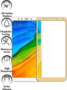 Todotumovil Protector de Pantalla Xiaomi Redmi 5 Plus Color Dorado ...