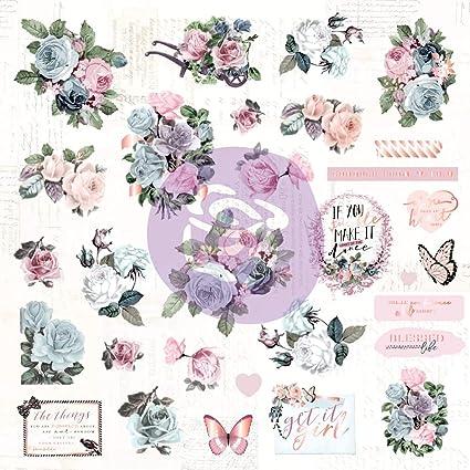Prima Poetic Rose Ephemera /& Acetate