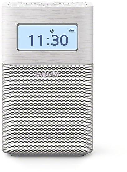 Sony SRF-V1BTW Portátil Digital Blanco - Radio (Portátil, Digital, Am,