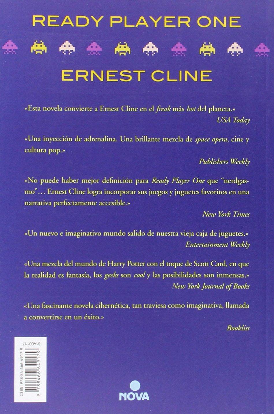 Ready player one (Grandes novelas): Amazon.es: Cline, Ernest: Libros