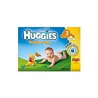 HUGGIES Super Dry taglia 3 (4-9 kg) - pacco da 192 pannolini