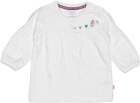 bfc Babyface - Camisa para niña marfil de 95% algodón 5% licra ...