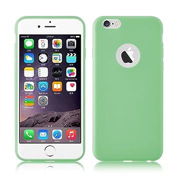 JAMMYLIZARD | Carcasa Ultra Fina Goma De Silicona Para iPhone 6 Plus / 6s Plus 5.5