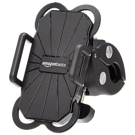 AmazonBasics – Soporte universal para teléfono para bicicleta o motocicleta
