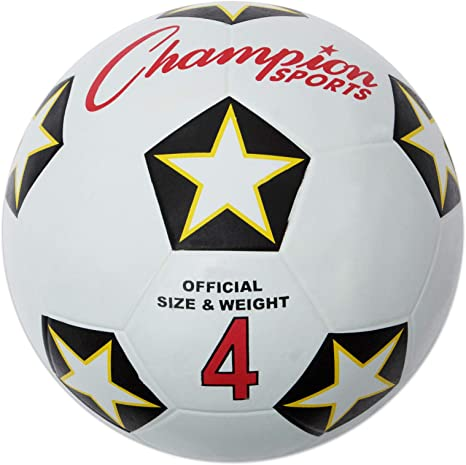 CHAMPION SPORTS SRB4 - Pelota Deportiva de Goma, para fútbol 4 ...