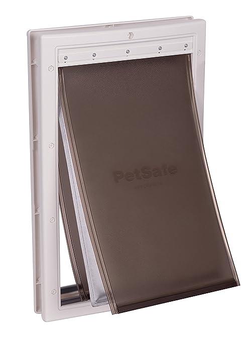 PetSafe Haustierklappe extrem wetterfest, Katzenklappe Hundeklappe für extremes Wetter, 2 Verschlussoptionen, energiesparend,